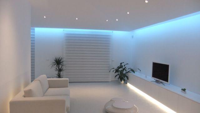 Come valorizzare una casa con la giusta illuminazione - Luci a led per interni casa ...